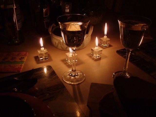 Wine Candles Timeless Elegance