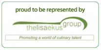 Proud to be represented by The Lisa Ekus Group -- Promoting a world of culinary talent