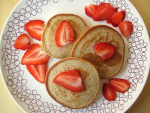 Buttermilk & Buckwheat Pancakes