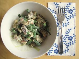 Herbed Chicken Salad with Bacon & Crème Fraîche
