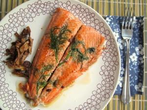 Dill-Pressed Salmon