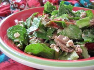 Tuna & Goat Cheese Salad