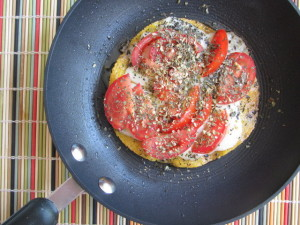 Summertime Tortilla with Gruyère & Tomatoes