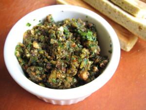Sun-Dried Tomato Pesto with Hazelnuts & Cilantro