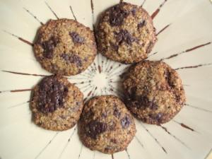 Flourless Oat & Pecan Cookies
