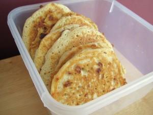 Cottage Cheese Pancakes with Cinnamon & Lemon